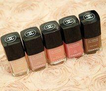 cosmetics, pastel, luxury, girly, makeup, chanel, nail polish