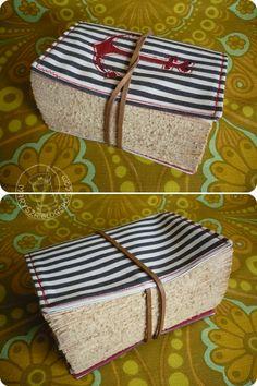 Handmade Journal - I'd like a thick journal like this one...