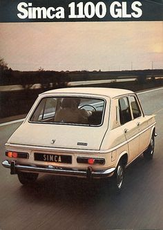 French-Cars-since-1946 • 1967 Simca 1100...