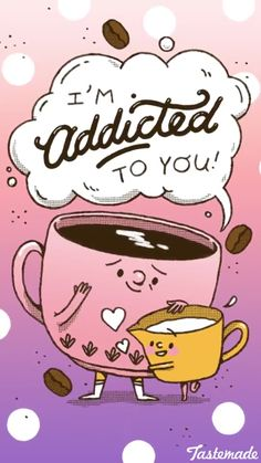 Maybe sometimes when they're a dic to you it's cause their addicted. Lol
