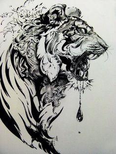aztec tiger tattoo - Google Search