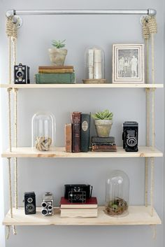 Thoughts from Alice: Creative Bookshelf Styling