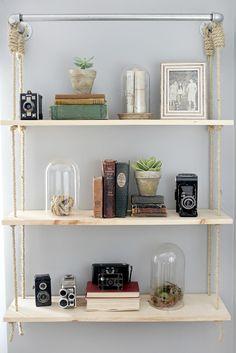 hanging shelves - Google Search