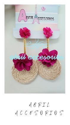 43 Ideas For Crochet Jewelry Earrings Beautiful Diy Necklace, Diy Earrings, Earrings Handmade, Crochet Earrings, Handmade Jewelry, Beautiful Handmade Cards, Soutache Jewelry, Bijoux Diy, Fabric Jewelry