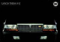 Lancia Thema 8.32 - brochure (1989)