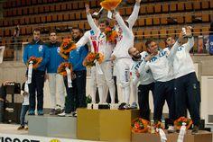52° Tissot World Cup Team Podium: Gold RUSSIA, Silver FRANCE, Bronze ITALY (Photo: Domenico GULLO)