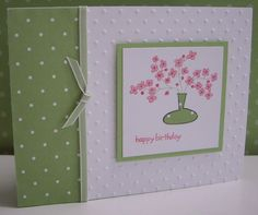 Happy Birthday Card - A Slice of Life Stampin Up Hostess set