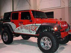 Jeep Rubicon. I like the colors
