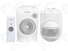 Friedland Evo+ 150m Wirefree LED Door Chime and PIR Kit (D3120)  New Friedland EVO+ 150m wirefree portable LED Door Bell Chime and PIR Kit (D3120). The contemporary styled white Door Chime has 6 CD quality chime sounds, a 4 step volume control and visual alert of activation. Up to 150 metre operating range between the Door Chime and the slimline white Doorbell Push. Movement activated PIR triggers Door Chime to alert of intrusion. 2 YEAR WARRANTY.