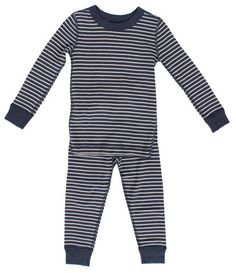 Magnolia Baby Baby Boy Race Time Long Sleeve Pajamas Blue