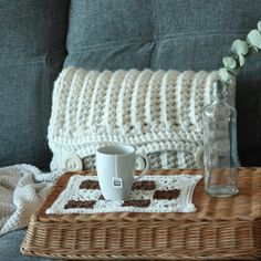 Tea moment. Slow life. Slow moments. Crochet. Handmade. Alma: Teas & herbal infusions