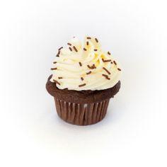 Chocalte w/Vanilla Buttercream Cupcake Manjar El Paso