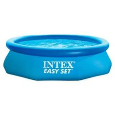 Cool, refreshing and simple to set up, this Intex x Easy Set Pool will be a hit with the entire family! This Easy Set pool sets up quickly and easily, and you won't need any tools. Intex Above Ground Pools, Best Above Ground Pool, Above Ground Swimming Pools, In Ground Pools, Intex Easy Pool, Intex Swimming Pool, Piscina Intex, Jacuzzi, Quick Up Pool