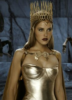 Immortals - Athena, Daughter of Zeus. Don't actually know who the actress is. Lol