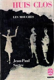 Jean-Paul Sartre Huis Clos waarin de beroemde uitspraak: L'enfer, c'est les autres!