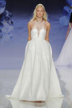 A stunning Inmaculada Garcia wedding gown: http://www.stylemepretty.com/2017/04/27/inmaculada-garcia-barcelona-bridal-fashion-week-2017-2/