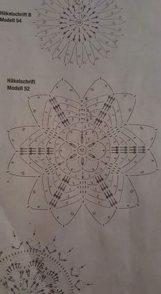 … - Her Crochet Crochet Snowflake Pattern, Christmas Crochet Patterns, Crochet Snowflakes, Christmas Knitting, Crochet Doilies, Crochet Flowers, Snowflake Craft, Christmas Snowflakes, Christmas Baubles