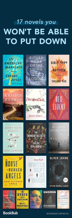 This reading list contains 17 awesome novels you will not be able to put down even when its deep into the night...