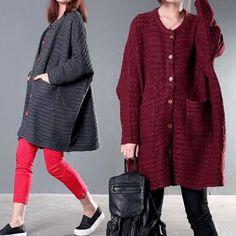 Fashion Comfort Single Breasted Slim Cotton Sweater Fall Winter Warm Full Sleeve Long Sweaters Cardigans Women