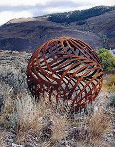 Abstract Sculpture, Sculpture Art, Garden Sculptures, Metal Sculptures, Outdoor Sculpture, Outdoor Art, Land Art, Metal Artwork, Cool Artwork
