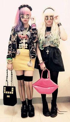 Pastel goth nu Fashion
