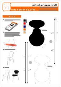 Miniature Printables - Chair