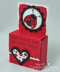 ladybug ghirardelli box