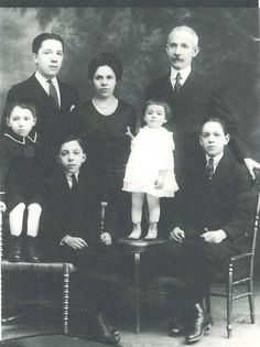 Sferra family portrait. After Gennaro Sferra (top right) passed, his sons Enrico (top left) and Albert (bottom right) continued the success of SFERRA