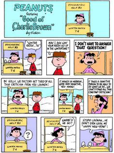 Classic Peanuts 12/28/14 - Originally appeared 12/31/67