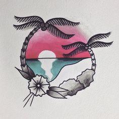 tentativa de delicia #overdriveskinart #ink #draw #drawing #tropical #bold…