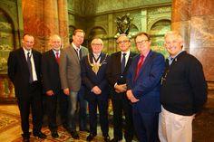 Richard Jones, Lorcan O'Sullivan, Micael Gustafsson. Lord Mayor Peter Rippon, Sebastião Feyo de Azevedo, Paul Hatton, Fernando Jorge Monteiro