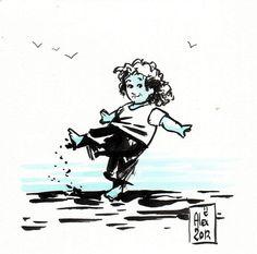 Encres : Capoeira - 83 [ #capoeira #ink #painting ]
