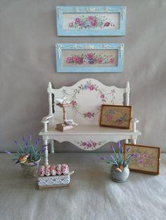 Huevos de pascua 6 trozo multicolor pintado casa de muñecas decoración en miniatura 1:12