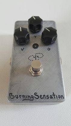 Paul Trombetta PTD Designs Burning Sensation, ex. cond., free shipping CONUS 2014 Silver