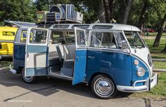 https://flic.kr/p/ujdH6q   Ready for Vacation   This VW Bus was photographed at the Libertyfest Car Show in Edmond, Oklahoma.