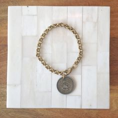 Vintage Mexican Coin Charm Bracelet – Laura James Jewelry