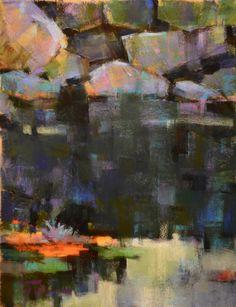 """Jen Evenhus: A Colorful Journey: """"Trail Head"""" / pastel"""