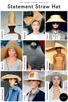 Statement Straw Hat