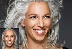 assumer ses cheveux gris - Recherche Google