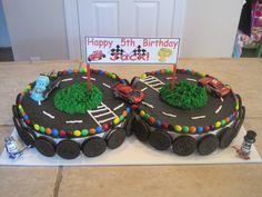 Race Car Birthday Cake Designs   Cutie Pie Parties: Children's Birthday Cakes!