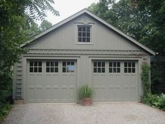 Did you remember to shut the garage door? Most smart garage door openers tell you if it's open or shut no matter where you are. A new garage door can boost your curb appeal and the value of your home. Double Garage Door, Craftsman Garage Door, Garage Door Windows, Carriage Garage Doors, Diy Garage Door, Modern Garage Doors, Garage Door Makeover, Garage Door Design, Garage Ideas