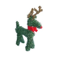 Vickerman 5 Rudolph the Red-Nosed Reindeer with Bow Artificial Pine (Green) Christmas Figurine Christmas Tree Bows, Xmas Tree, Christmas Themes, Christmas Figurines, Xmas Ornaments, Michael Christmas, Rudolph The Rednosed Reindeer, Seasonal Decor, Holiday Decor