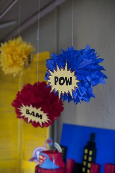 Super Hero Decorations