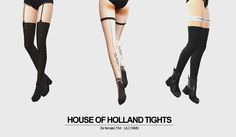 LILO SIMS 4 — TS4 :: House Of Holland Tights Set (11 designs)...