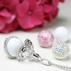 From engelsrufer_uk_ireland - Wednesday Love X #engelsrufer #AngelWhisperer #Love #Silver #Jewellery #Sparkle