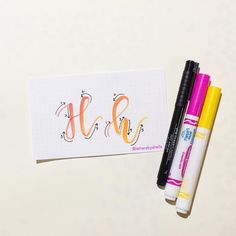 697 Likes, 16 Comments - Shelly Kim Calligraphy Doodles, Calligraphy Drawing, Learn Calligraphy, Calligraphy Alphabet, Typography Letters, Modern Calligraphy, Creative Lettering, Brush Lettering, Monogram Letters