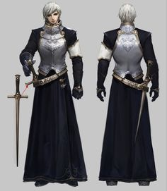[Aion First images of instances and items on Daeva's Report Fantasy Armor, Medieval Fantasy, Dark Fantasy, Fantasy Character Design, Character Design Inspiration, Character Concept, Character Art, Comic Japan, Hyung Tae Kim