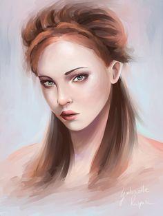 Sansa Stark by Gabrielle Ragusi Deviantart