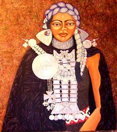 The Daughter of the Bright Sun..Mapuche Woman