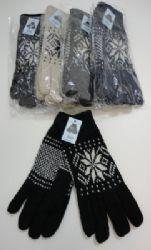 Men's Thermal Insulate Gloves--Snowflakes Insulated Gloves, Winter Gloves, Snowflakes, Fashion, Moda, La Mode, Fasion, Fashion Models, Trendy Fashion